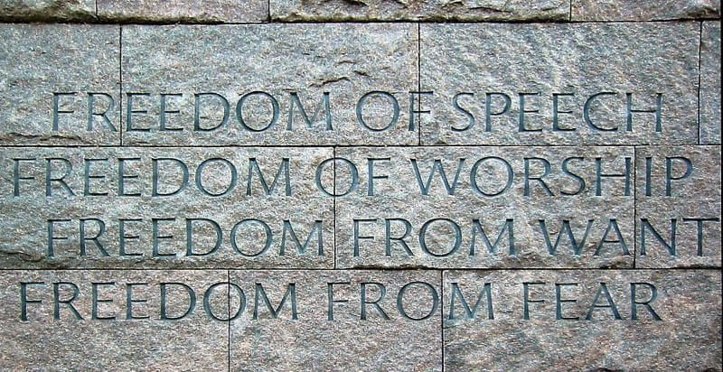 History Trivia Question: Who was the U.S. President that gave the Four Freedoms Speech?