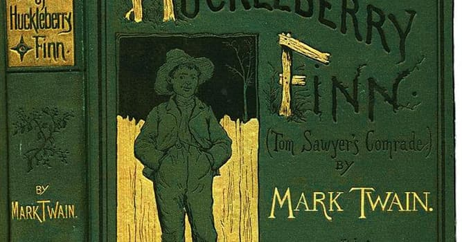 Culture Trivia Question: With whom does Huck Finn float down the river?