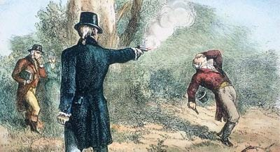 History Trivia Question: How many duels did Andrew Jackson fight mostly defending the integrity of his wife?