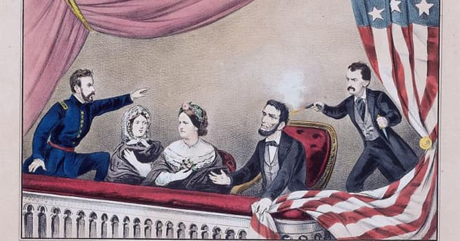 History Trivia Question: When Abraham Lincoln was assassinated, what play was he watching?