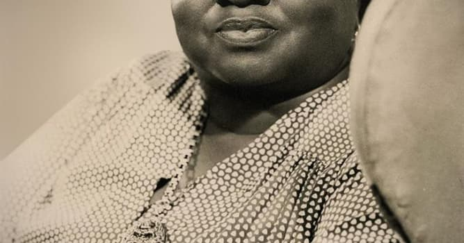 Movies & TV Trivia Question: Who performed for black regiments as the only white member of an acting troupe formed by Hattie McDaniel?