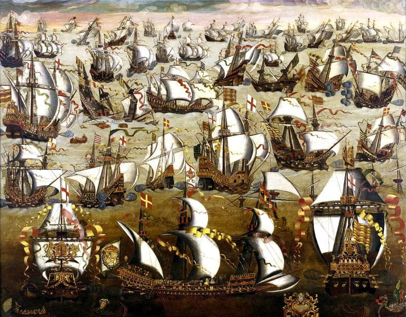 History Trivia Question: Who was the ruler of England when the Spanish Armada sailed from Spain in 1588?