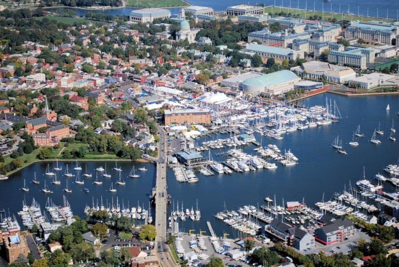 География Вопрос: Какой город является столицей штата Мэриленд?