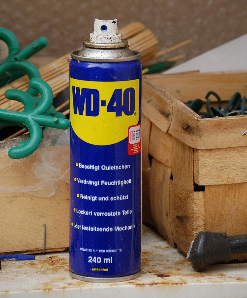 Society Trivia Question: What is the meaning of the trademark name WD-40?
