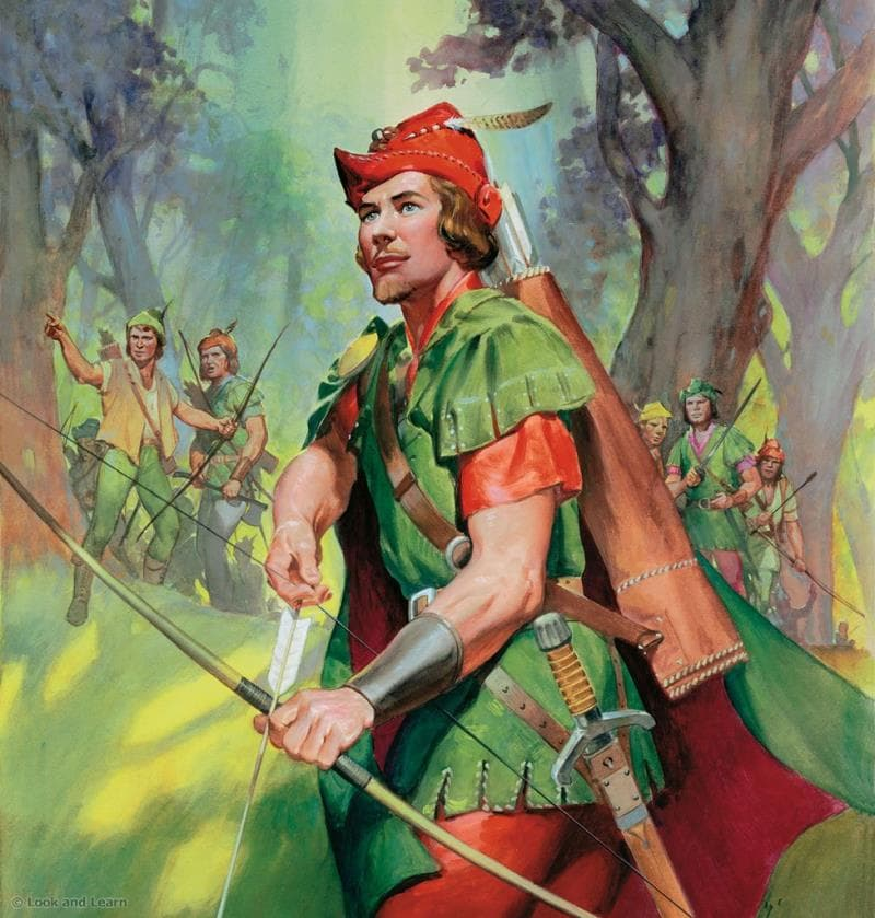 Movies & TV Trivia Question: Who played the role of Robin Hood in the British television series The Adventures of Robin Hood in the 1950's?