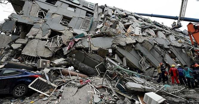 История Вопрос: Сколько человек погибло в наиболее смертоносном землетрясении в истории человечества?