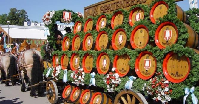 Общество Вопрос: В какой из указанных стран общий размер годового потребление пива (в литрах) самый большой?
