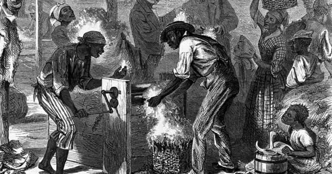 История Вопрос: В каком году  было окончательно (в юридическом контексте) запрещено рабство на всей территории США?