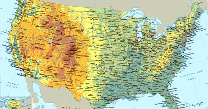 География Вопрос: Верно ли, что самая восточная и самая западная точки территории США называются одинаково?