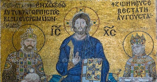История Вопрос: Удивительно, но два ключевых события в истории христианства связаны с императорами, носившими имя Константин. Римский Константин сделал христианство господствующей религией, а византийский - допустил раскол церкви. Кто был этот Константин?