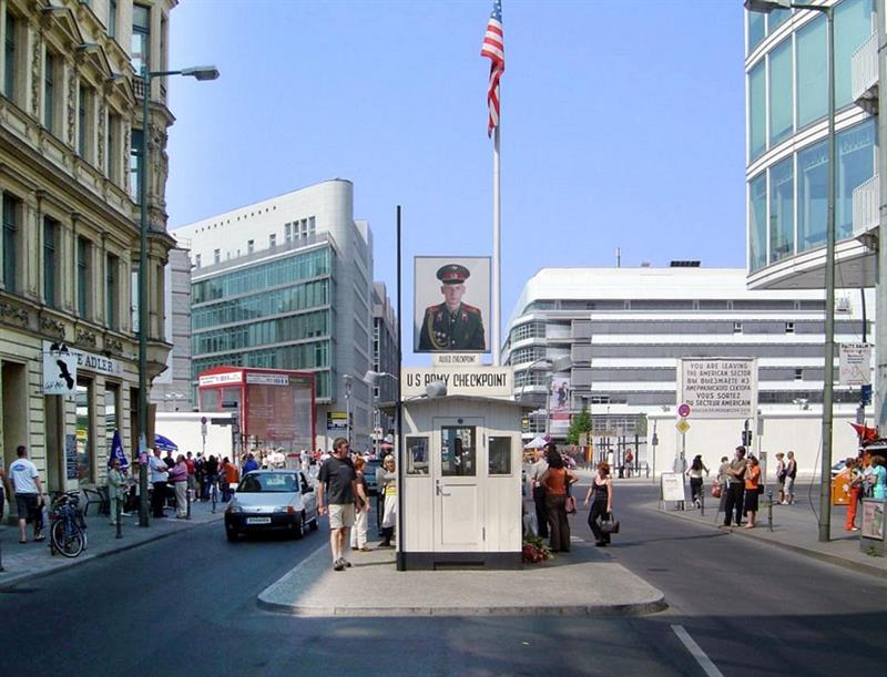 History Trivia: In which European city would you find Checkpoint Charlie?