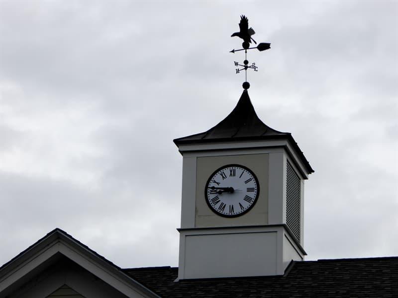 История Вопрос: Где находятся самые старые действующие башенные часы?