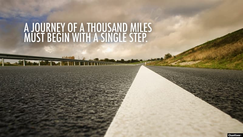 """Culture Trivia Question: Who originally said """"A journey of a thousand miles must begin with a single step""""?"""