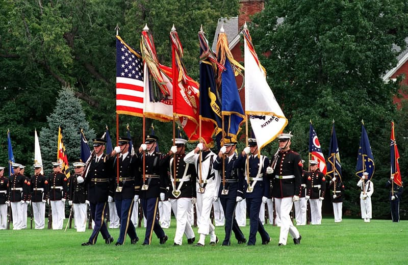 History Trivia Question: The 5 branches of the U.S. Armed Forces are: U.S. Army, U.S. Navy, U.S. Air Force, U.S. Marine Corps, and ...