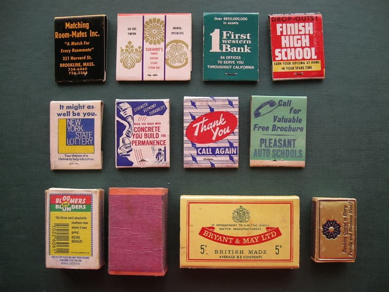 Society Trivia Question: What are collectors of match books and match covers called?