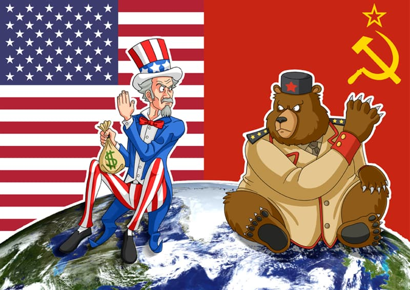 History Trivia Question: What symbolized the end of the Cold War?