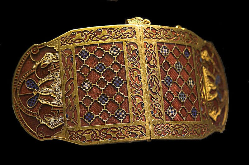 History Trivia Question: What was the final and best-known work of Anglo-Saxon art?