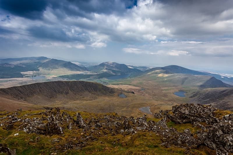 Geography Trivia Question: Where is mount Snowdon located?