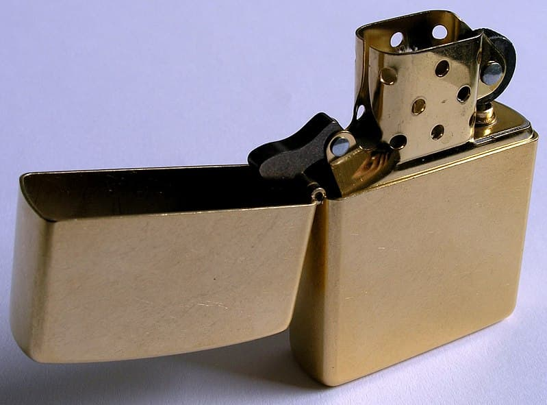 Society Trivia Question: Who created the Zippo lighter?