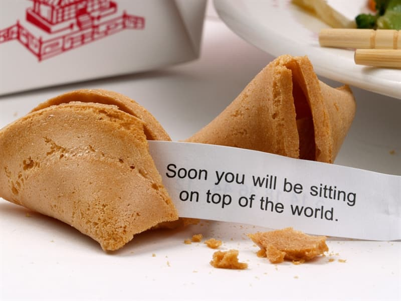 Culture Trivia Question: Fortune cookies are not a traditional Chinese custom but American in origin.