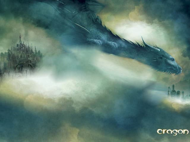Culture Trivia Question: How many books currently follow the book Eragon in the same series (2015)?
