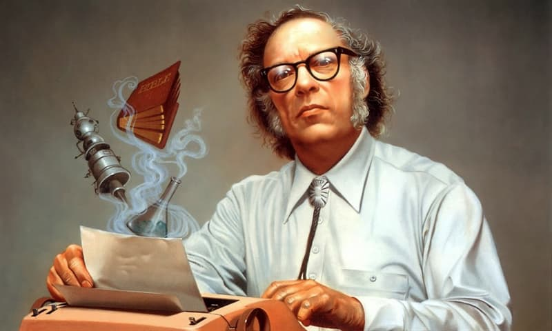Culture Trivia Question: How many books did the SF author Isaac Asimov write or edit?
