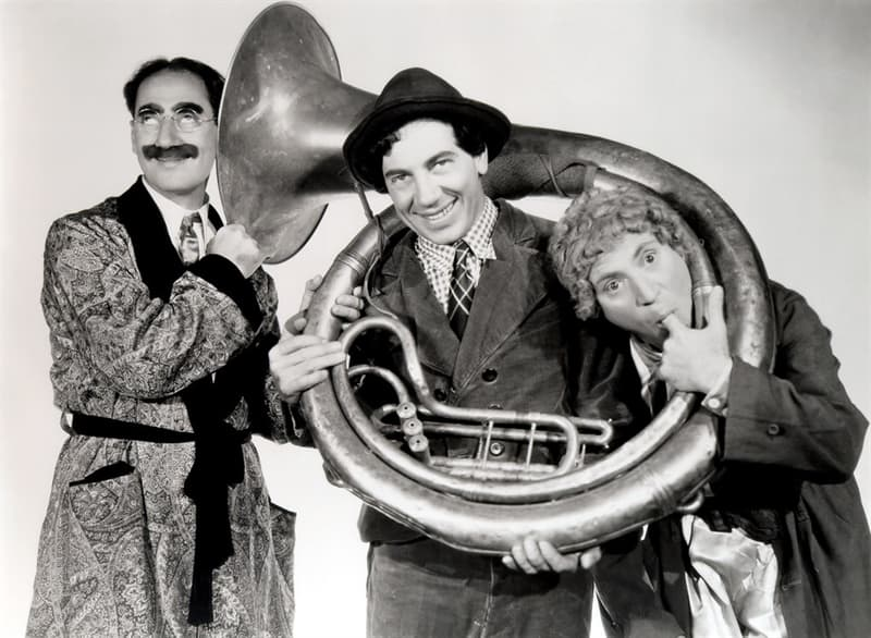 Society Trivia Question: How many Marx brothers were there?