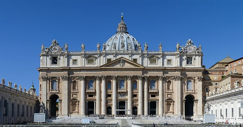 Society Trivia Question: Is it true that St.Peter's Church in Rome is a cathedral and not a basilica?