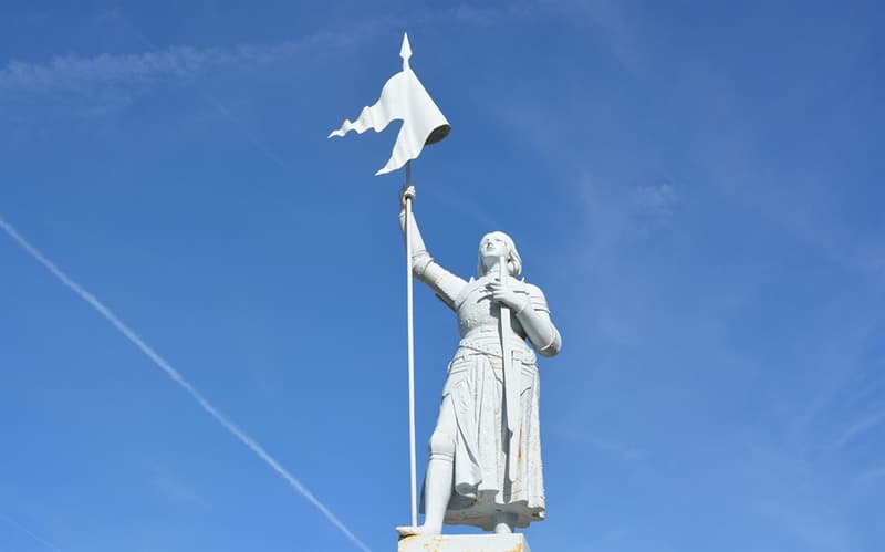 History Trivia Question: Joan of Arc is also known as the Maid of where?