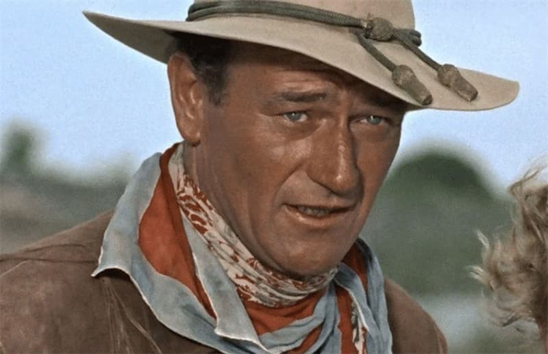 Society Trivia Question: John Wayne was married three times and each of his wives were of Hispanic descent.