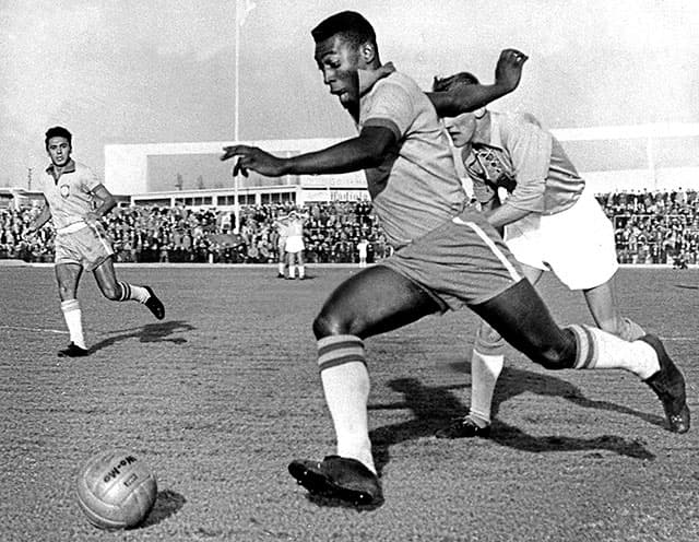 Society Trivia Question: Pele played soccer for what team in 1975-77?