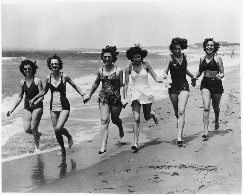 "Culture Trivia Question: Who coined the phrase ""Bikini"" for the two piece swimsuit design in 1946?"