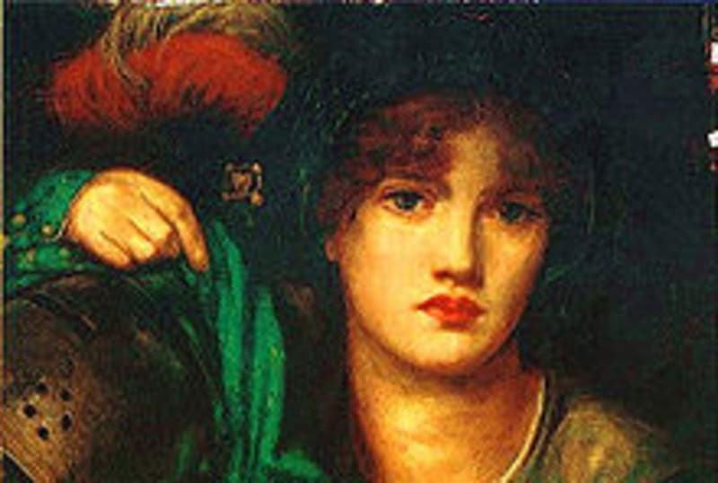 """Culture Trivia Question: The picture is """"My Lady Greensleeves"""". Who was the artist?"""