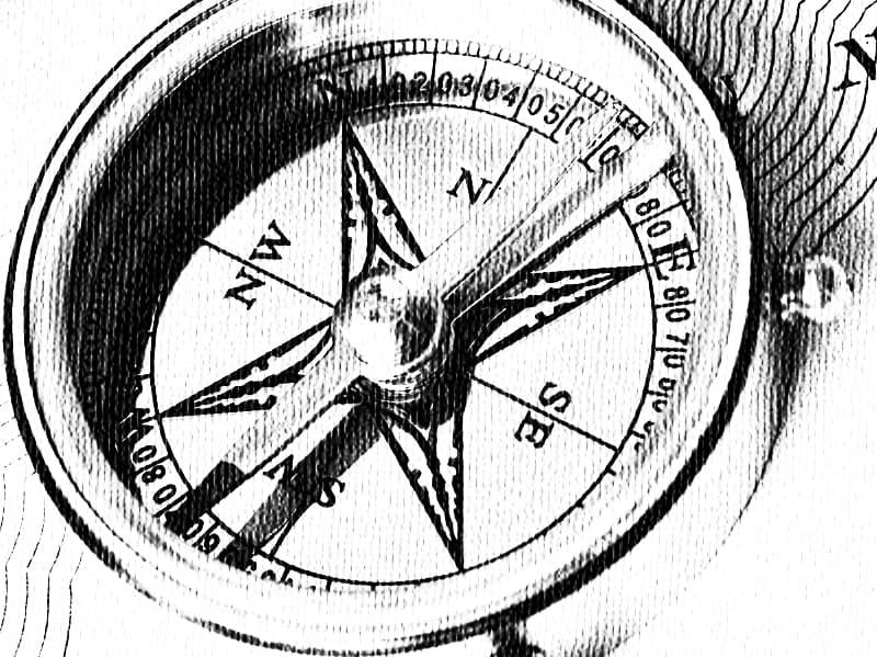 История Вопрос: В какой стране был изобретён первый в мире компас?
