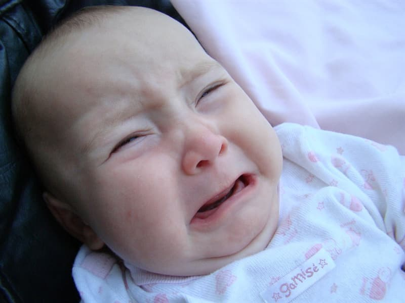Science Trivia Question: What color of a room makes babies cry and tempers flare?