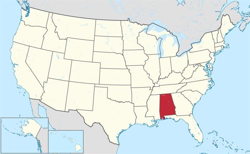 География Вопрос: Какой город является столицей штата Алабама?