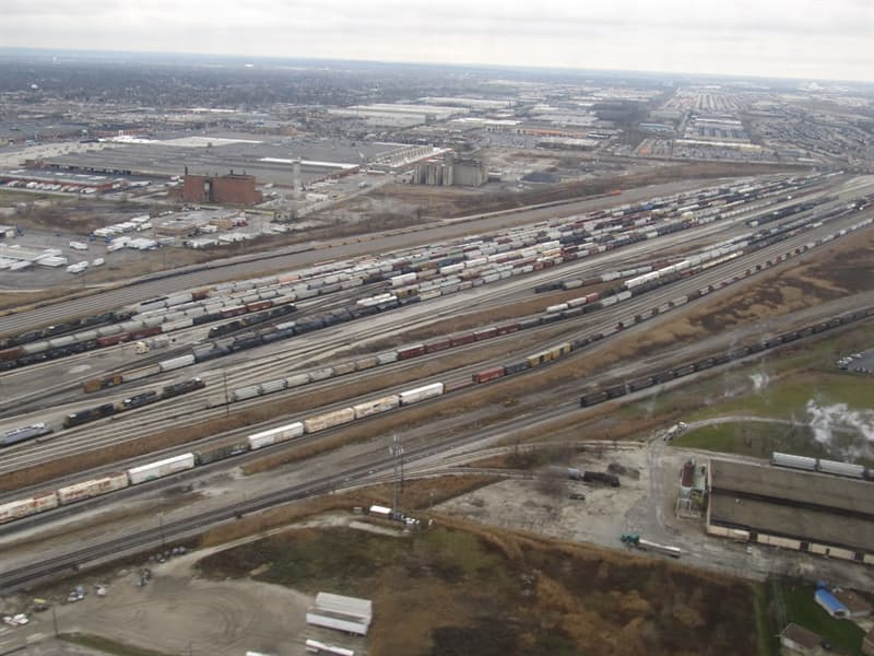 History Trivia Question: What is the name of the largest railroad classification yard in the world?