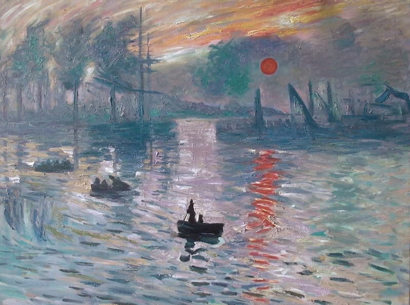 Culture Trivia Question: What name of this painting style derives its name from the title of a Claude Monet work?