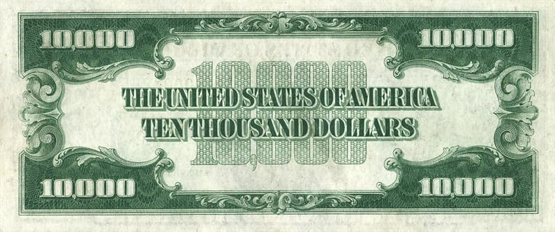 Society Trivia Question: Who is on the $10,000 bill?