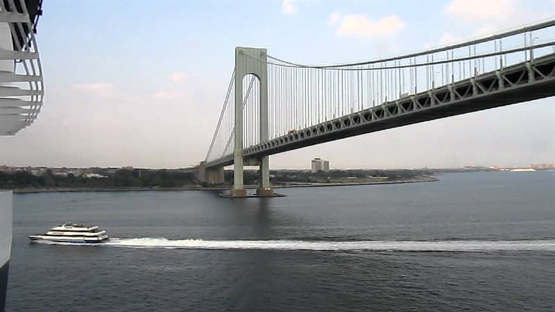 Geography Trivia Question: What two boroughs of NYC does the Verrazano-Narrows Bridge connect?