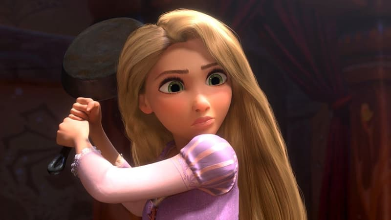 History Trivia Question: What was Rapunzel's evil stepmother's name?