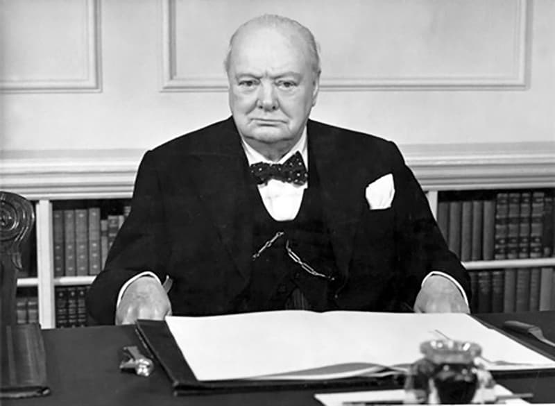 History Trivia Question: What was Winston Churchill's reaction when he heard of Japan's attack on Pearl Harbor?