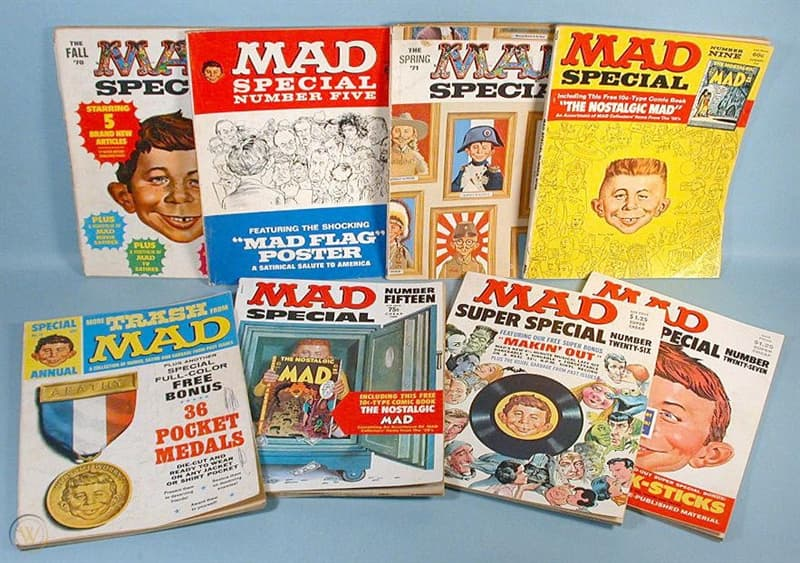 "Culture Trivia Question: When was ""Mad"" founded?"