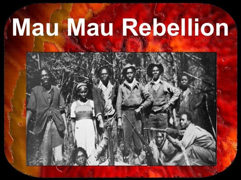 History Trivia Question: Where was the Mau Mau Rebellion?
