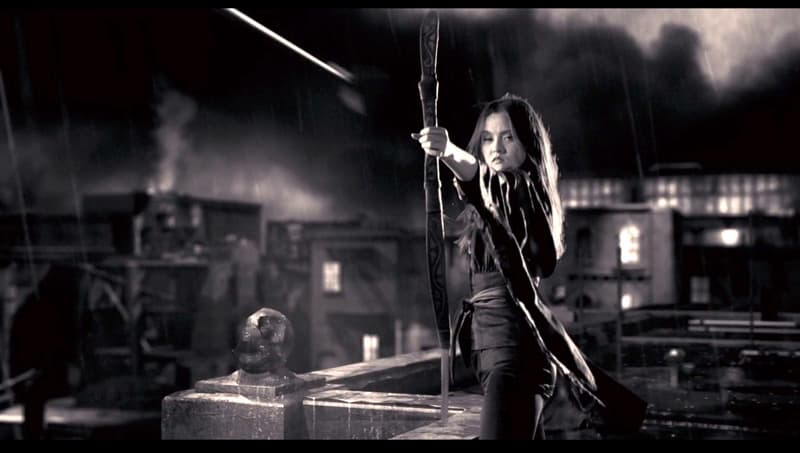 Movies & TV Trivia Question: Which actress plays the mute female assassin in the 2nd Sin City film: A Dame to Kill For?