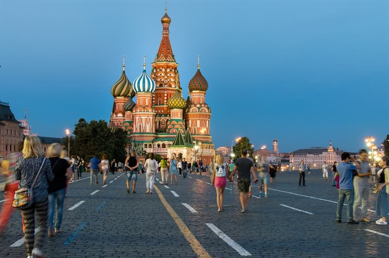 History Trivia Question: Which city was the capital of Russia between 1713 and 1918?