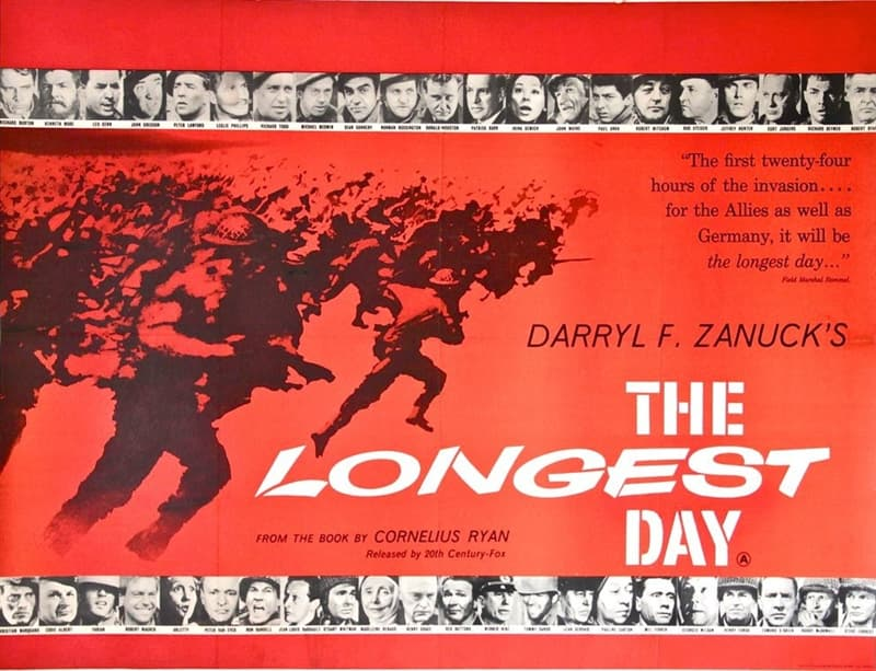 "Movies & TV Trivia Question: Who didn't star in the movie ""The Longest Day""?"
