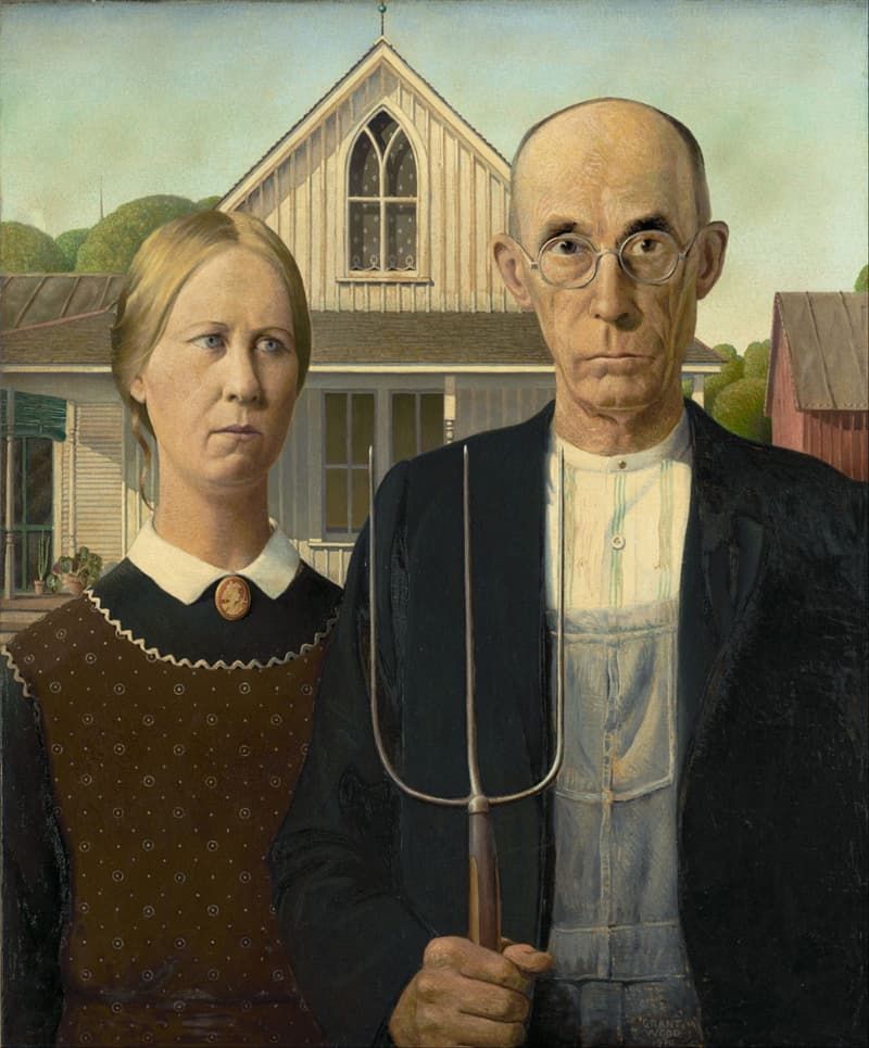 Culture Trivia Question: Who painted this?