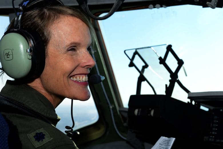 History Trivia Question: Who was the first woman pilot in US history to fly combat missions?