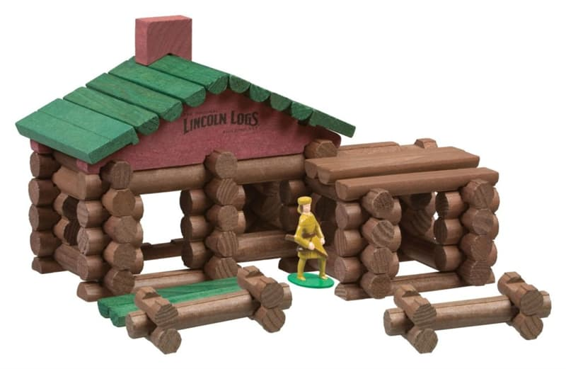 Society Trivia Question: Who was the inventor of Lincoln Logs, the child's toy interlocking beams to build objects?